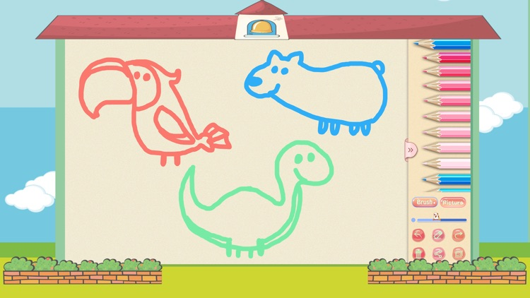 Drawing for color pen, doodle screenshot-4