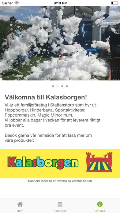 Image of Kalasborgen for iPhone