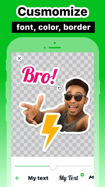 Stickers Maker & Memes screenshot-5