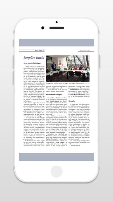 PRESSBURGER ZeitungScreenshot von 4
