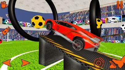 Turbo Car Soccer Rocket Ball Скриншоты3