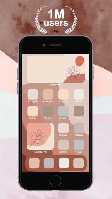 Aesthetic Kit – Icono y temasCaptura de pantalla de9