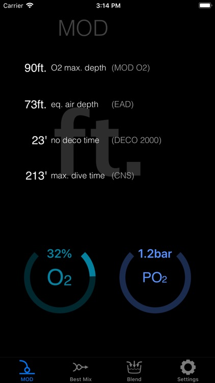 NitroxCalc screenshot-3