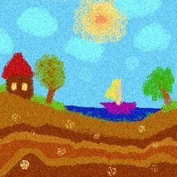 Colorful Sandpainting