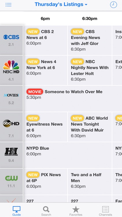 On TV Tonight - Listings Guide