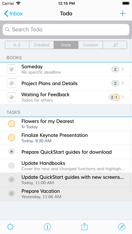 Notebooks for iPhone screenshot-1