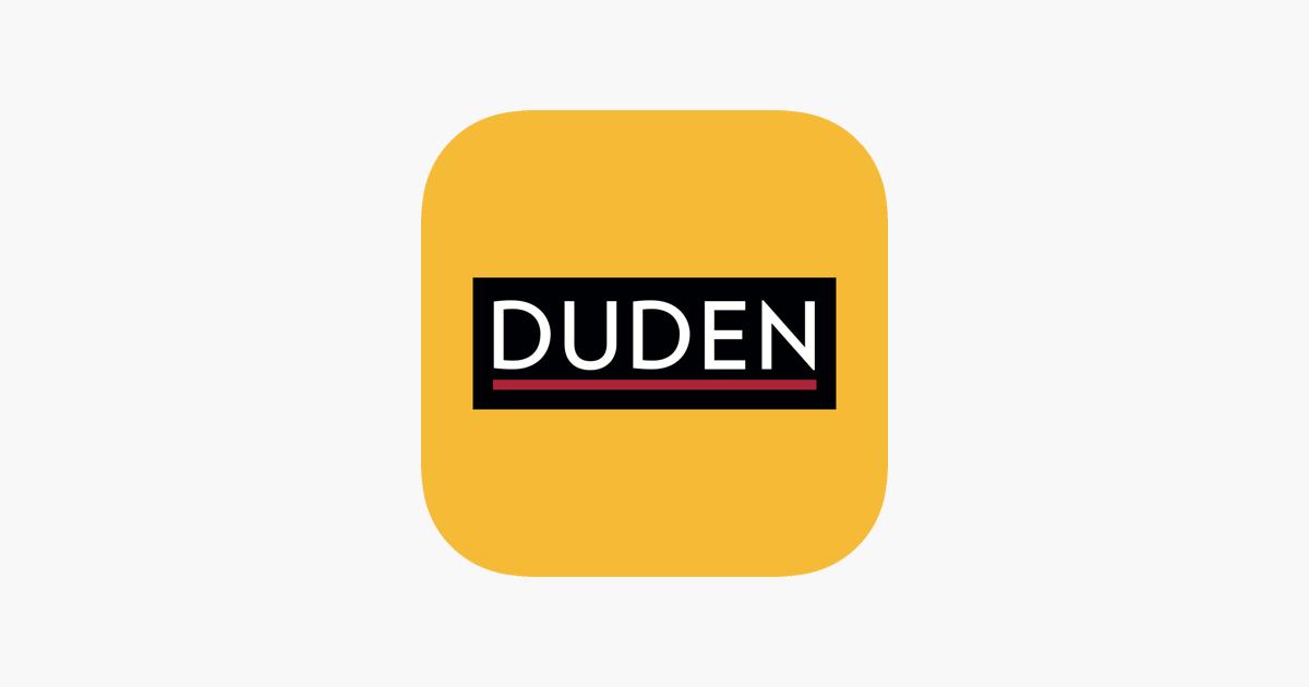 Duden Wörterbücher Deutsch Im App Store