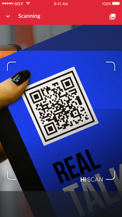 Hi SCAN - QR, Barcode Scanner screenshot one