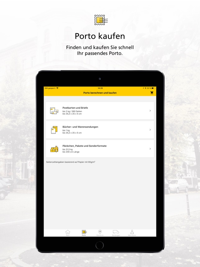 Post Mobil Im App Store
