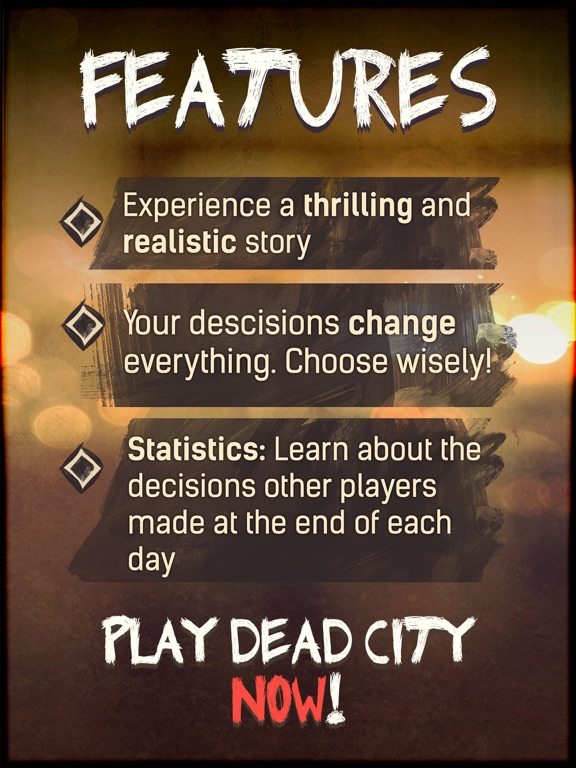 DEAD CITY - chat story game Screenshots