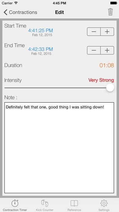Full Term review screenshots