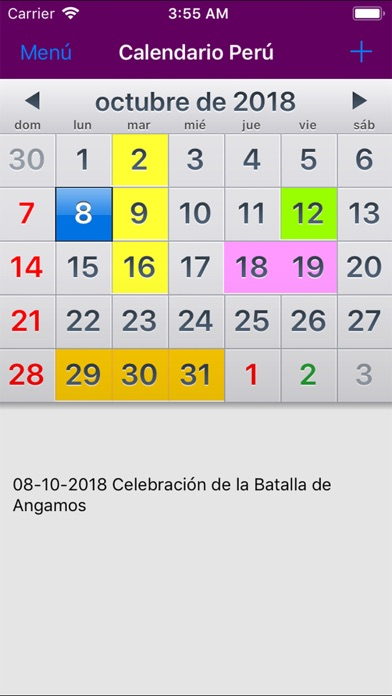 Calendario Per Pc.Calendario Feriados 2019 Peru On Pc Download Free For