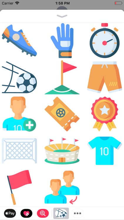 Futbol Stickers screenshot-3
