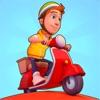 配達員: 凄いレースだ!壮大なランナーゲームだ。 - iPhoneアプリ