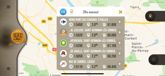 gas now gas price comparator on the app store rh itunes apple com