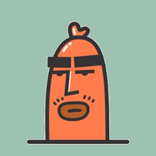 Sausage Man Animated Sticker
