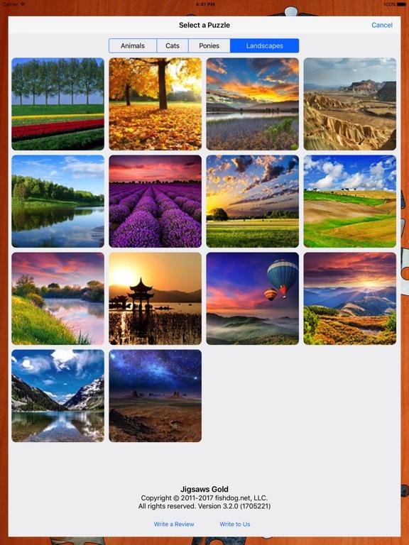 Jigsaws Gold Screenshots