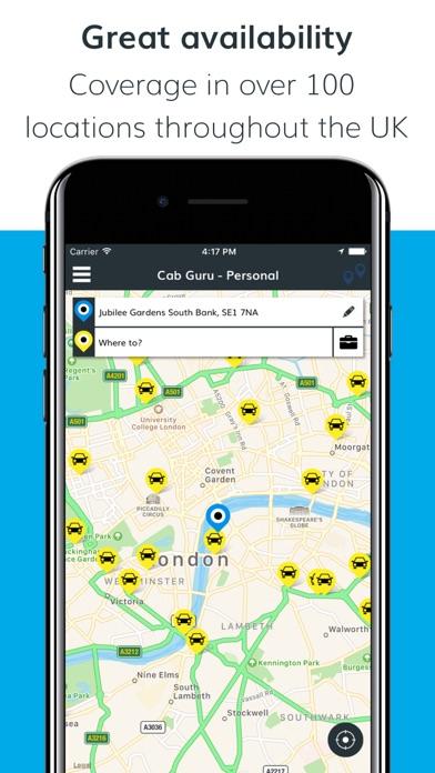 Cab Guru – Book your local cab screenshot one