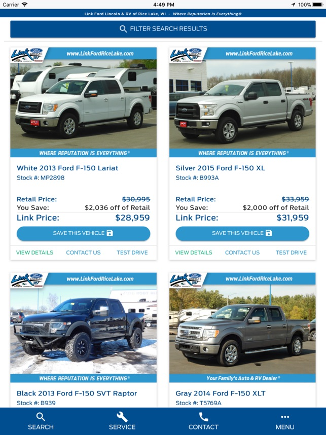 Link Ford Rice Lake >> Link Ford Rice Lake On The App Store