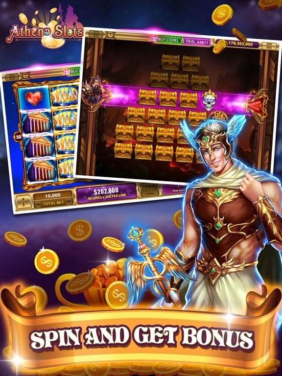 Athena Slots-funny slots-ipad-2