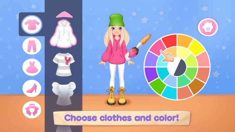Sewing games girls dress up 7