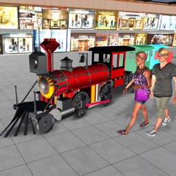 Shopping mall toy train games