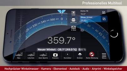 Winkelmesser, Wasserwaage AppScreenshot von 5