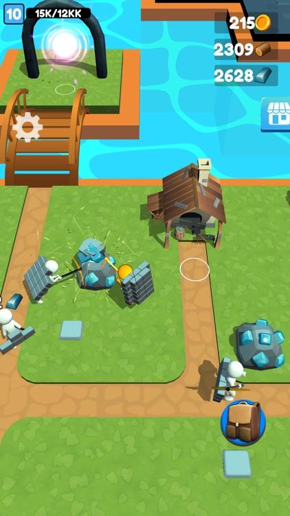 Buildy Island 3d: Chop & Craft screenshot-4