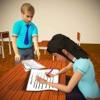 虚拟学校孩子欺骗3D