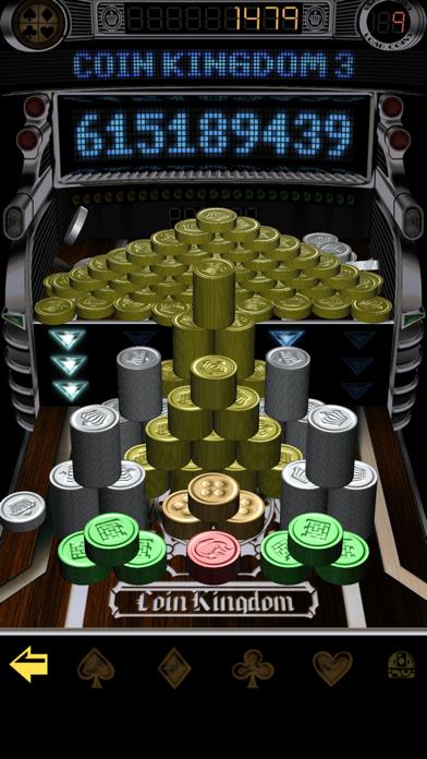 コイン キングダム3:コイン落としスロット 人気メダルゲームのおすすめ画像1