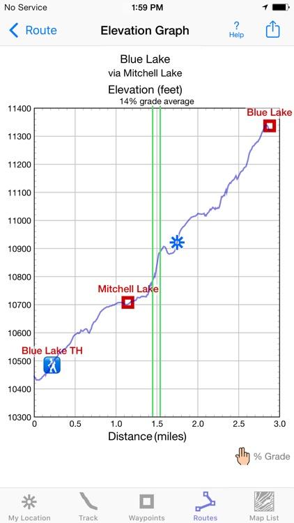 i Hike GPS : Topo Maps screenshot-4