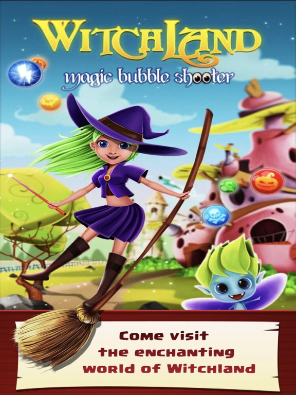 Image of WitchLand-Magic Bubble Shooter for iPad