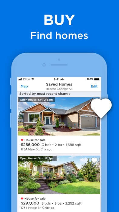 Screenshot for Real Estate on Zillow for Sale in United States App Store