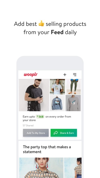 Wooplr: Sell Fashion Online