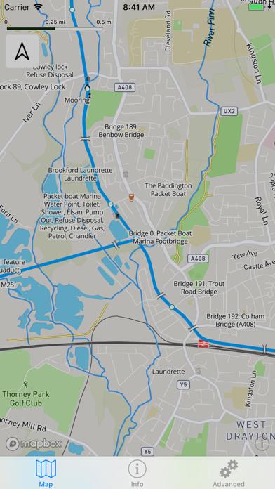 Open Canal Map UK screenshot two