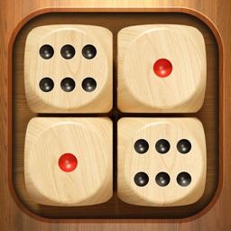 Woody Dice Merge Puzzle