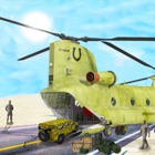 US Army Truck driving & Plane icon