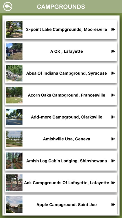 Indiana Campgrounds Offline screenshot-2