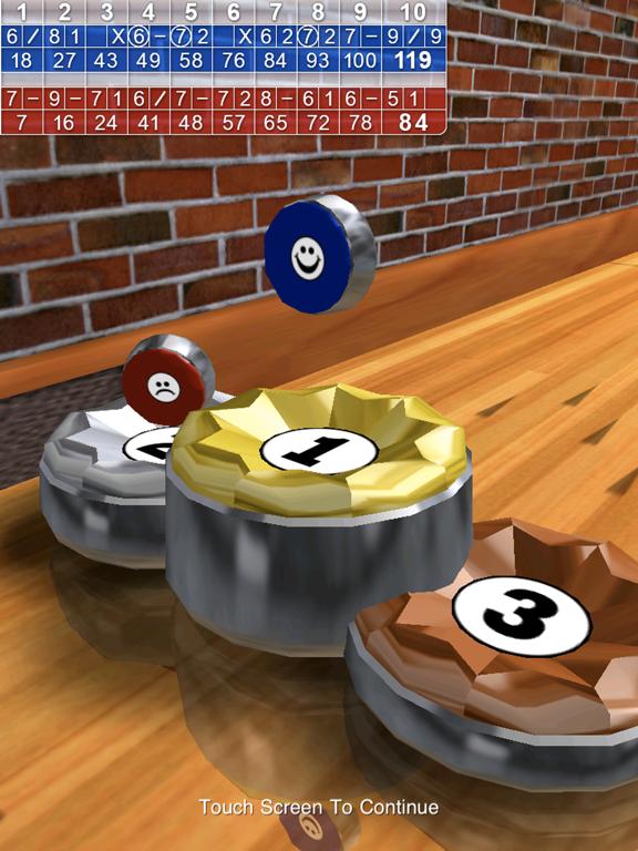 Ipad Screen Shot 10 Pin Shuffle Bowling 7