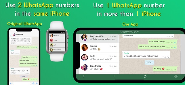 ‎WatchChat & Dual for Whatsapp on the App Store