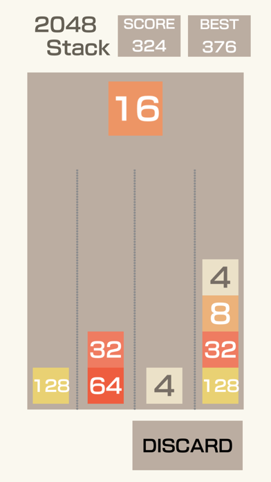 2048-Stack screenshot 1