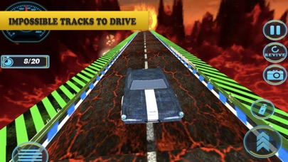 Screenshot of Challenging Car Driving: Death App