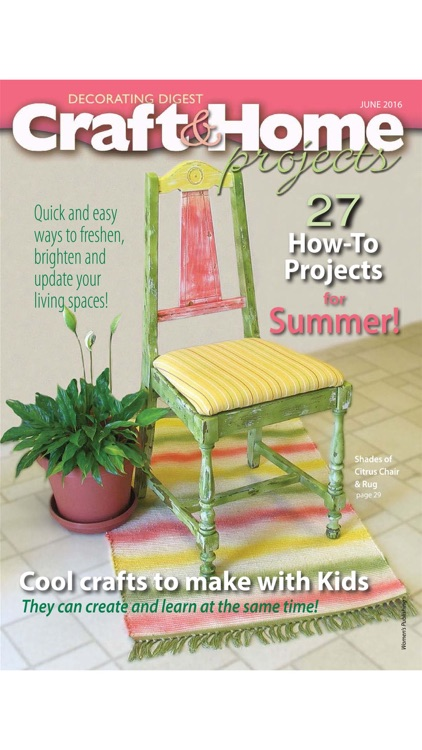 Craft & Home Projects Magazine screenshot-4