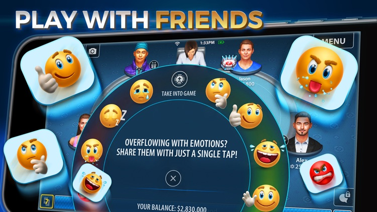 Omaha Poker: Pokerist screenshot-3