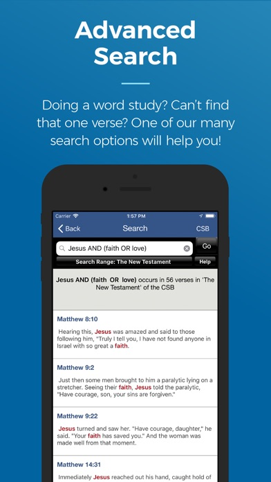 Blue Letter Bible iPhone