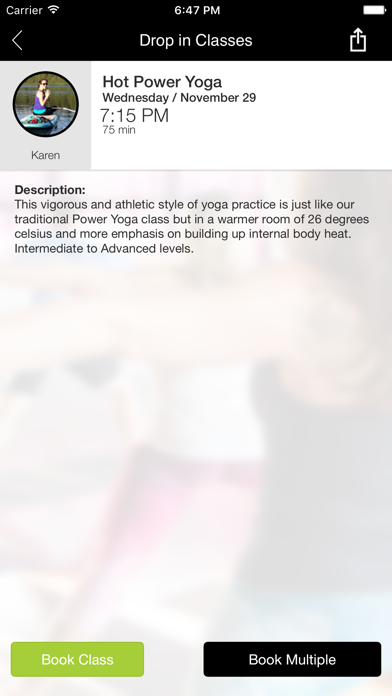 Epic Yoga and Fitness Studio screenshot four