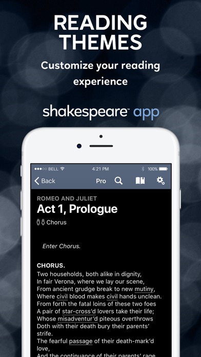 Shakespeare screenshot four
