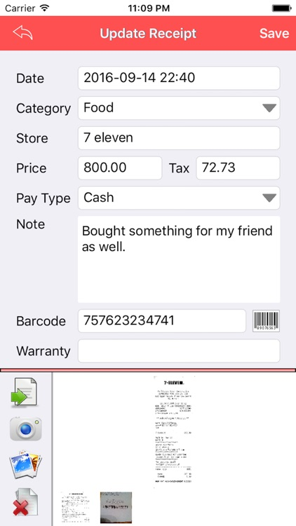 Receipt Smart screenshot-1