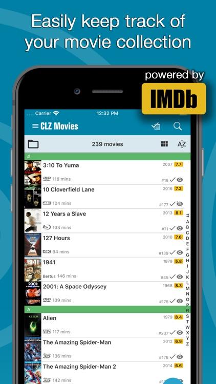 CLZ Movies - Movie Database screenshot-0