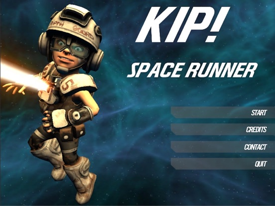 Kip! Space Runner screenshot #1